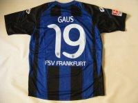 FSVフランクフルト11/12(H)マルセル・ガウス 選手実使用サイン入り
