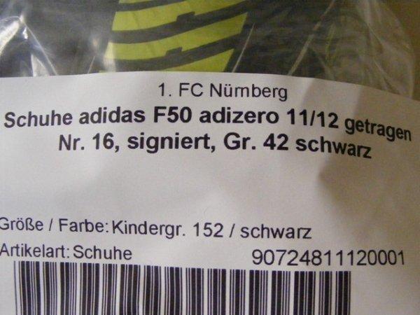 画像2: ニュルンベルク11/12 ユーリ・ユット スパイク 選手実使用 直筆サイン入り