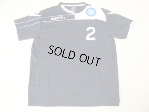 画像1: ナポリ11/12 ジャンルカ・グラヴァ CLトレーニングシャツ 選手実使用