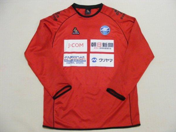 画像1: 町田ゼルビア11吉田宗弘 トレーニングシャツ 選手実使用 XL