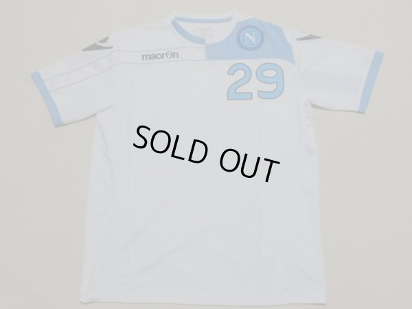 画像1: ナポリ11/12CLゴラン・パンデフ  トレーニングシャツ選手実使用