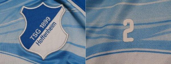 画像3: ホッフェンハイム11/12 アンドレアス・ベック トレーニングシャツ選手実使用