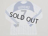 【値下げ】ディナモ・キエフ09/10(H)アンドリュー・シェフチェンコ ユニフォーム 選手用ストック放出品 L  adidas