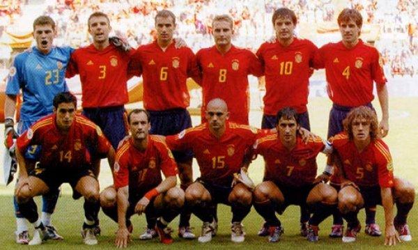 画像4: スペイン代表 2004/05 ホーム ユニフォーム  Mサイズ adidas