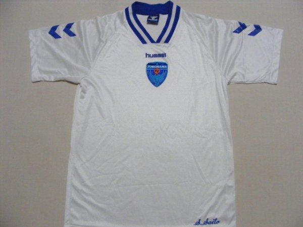 画像1: 横浜FC  トレーニングシャツ スタッフ支給品?