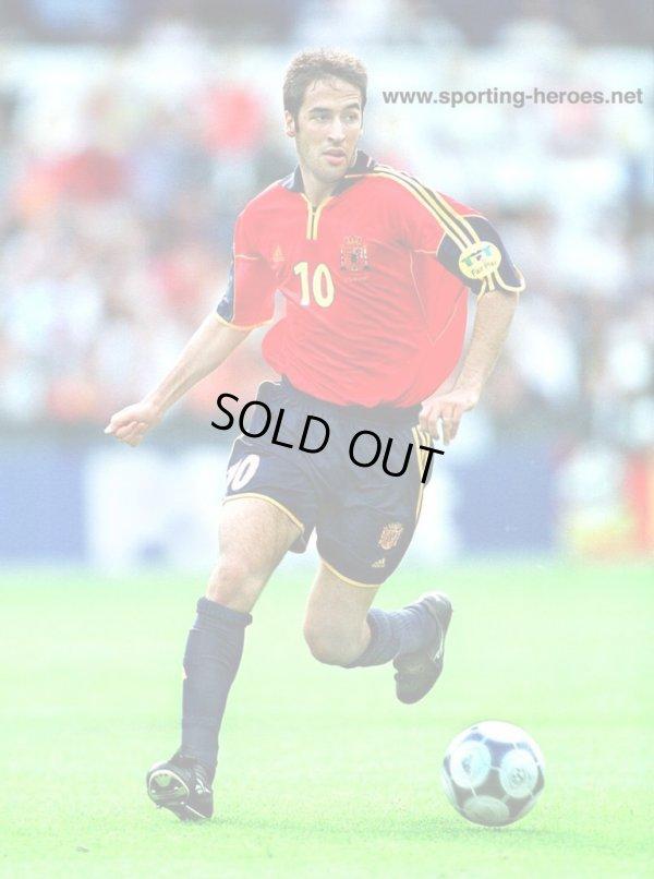 画像4: スペイン代表99/01(H)ラウル・ゴンサレス