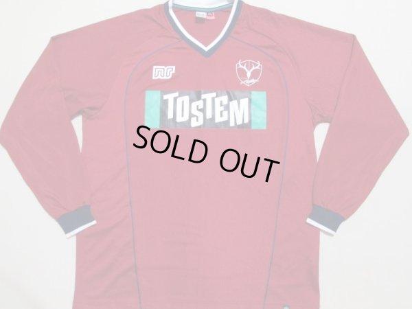 画像1: 鹿島アントラーズ 長袖トレーニングシャツ 選手支給品 XO ennerre