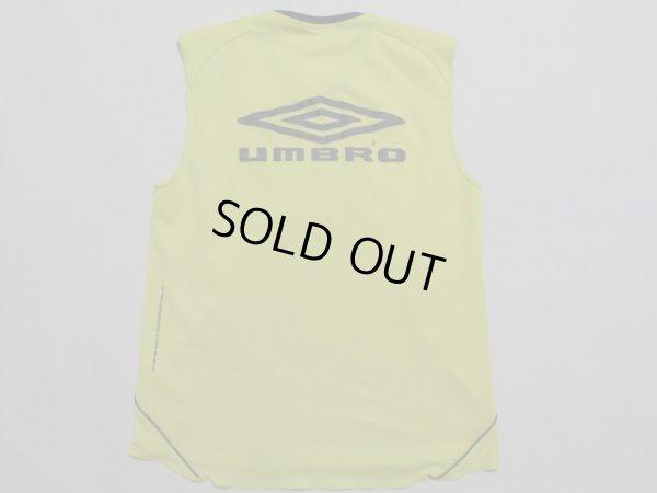 画像2: 柏レイソル ノースリーブトレーニングシャツ 選手支給品 XA-XB umbro