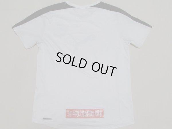 画像2: ツエーゲン金沢11 トレーニングシャツ 選手支給品 XL(実寸S〜Mぐらい) puma