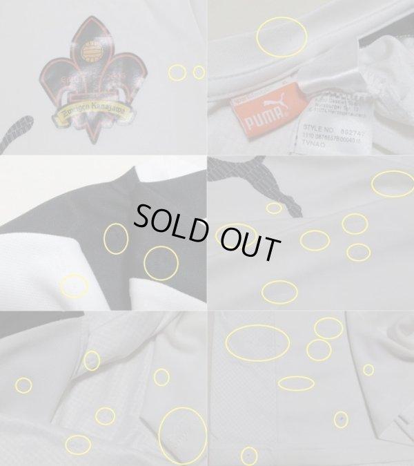 画像3: ツエーゲン金沢11 トレーニングシャツ 選手支給品 XL(実寸S〜Mぐらい) puma