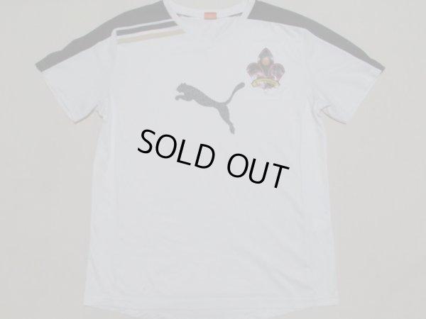 画像1: ツエーゲン金沢11 トレーニングシャツ 選手支給品 XL(実寸S〜Mぐらい) puma