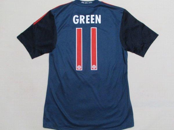 画像1: バイエルン・ミュンヘン13/14(3rd)ユリアン・グリーン ユニフォーム U-19選手支給品 M? adidas