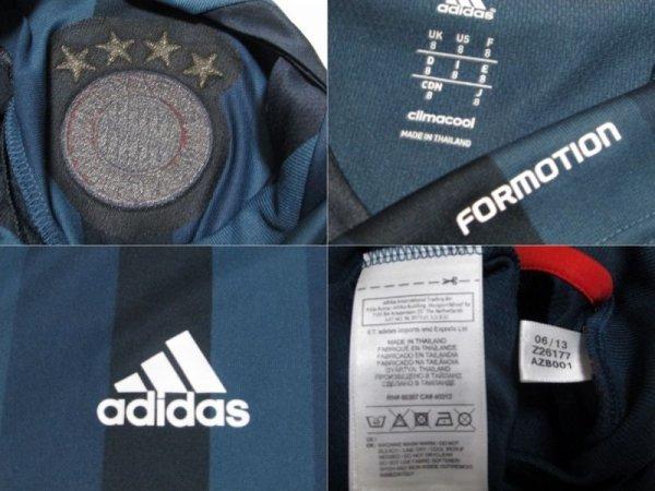 画像4: バイエルン・ミュンヘン13/14(3rd)ユリアン・グリーン ユニフォーム U-19選手支給品 M? adidas