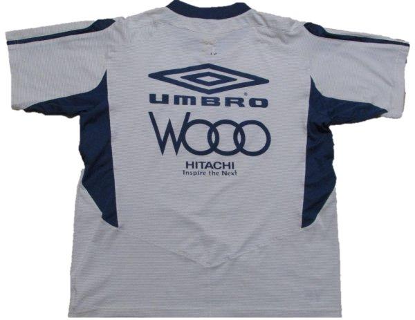 画像2: 柏レイソル#Y5 トレーニングシャツ上下セット 選手支給品 O-XO umbro