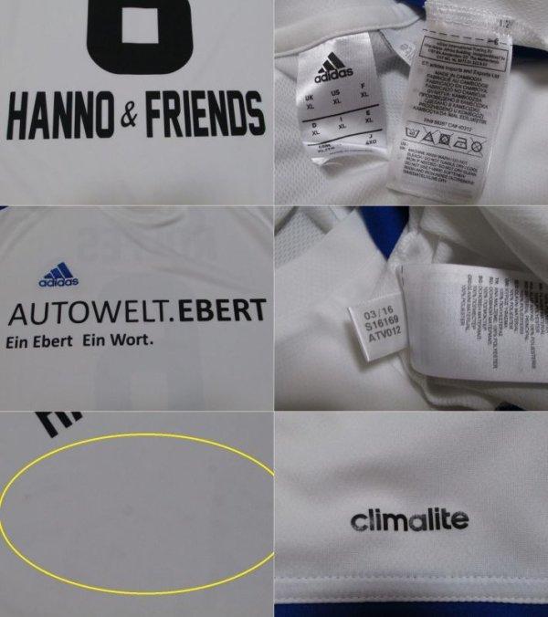 画像3: ハノ・バーリッチュ引退試合 ユニフォーム ジモン・ロルフェス 選手実使用品 XLサイズ adidas
