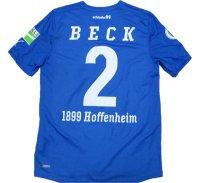 ホッフェンハイム 2011/12 ホーム ユニフォーム アンドレアス・ベック 選手実使用 DFB-Pokal Mサイズ puma