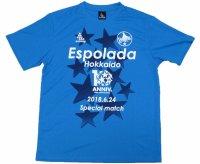 エスポラーダ北海道 Fリーグ参戦10周年記念Tシャツ Lサイズ svolme 未使用品