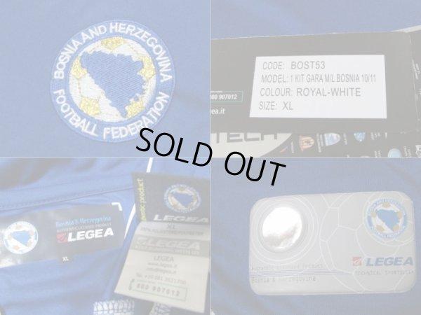 画像4: ボスニア・ヘルツェゴビナ代表 2012/13 ホーム ユニフォーム 上下セット XLサイズ LEGEA