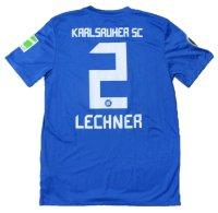 カールスルーエ 2011/12 DFB-Pokal ホーム ユニフォーム フロリアン・レヒナー 選手実使用 直筆サイン入り Mサイズ nike