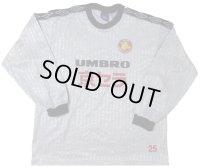 京都サンガ トレーニングシャツ #25 選手支給品 Lサイズ umbro