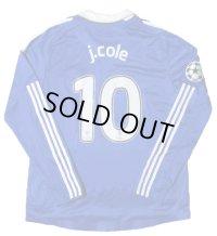 チェルシー 2008/09 CL ホーム ユニフォーム ジョー・コール 選手支給品 XLサイズ adidas
