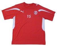 フォルトゥナ・デュッセルドルフ 2010/11 トレーニングシャツ #15 パトリック・ズンディ 選手実使用 Mサイズ puma