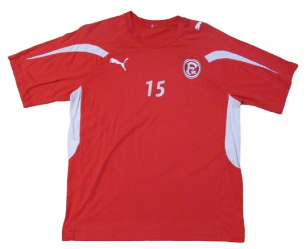 画像1: フォルトゥナ・デュッセルドルフ 2010/11 トレーニングシャツ #15 パトリック・ズンディ 選手実使用 Mサイズ puma