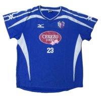 セレッソ大阪 2008 トレーニングシャツ #23 山下達也 選手支給品 Oサイズ mizuno