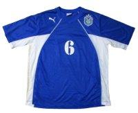 湘南ベルマーレ 2003/04 練習試合用ユニフォーム #6 中里宏司 選手支給品 XOサイズ puma