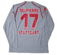シュトゥットガルト 2005/06 サード ユニフォーム マチュー・デルピエール 選手支給品 XLサイズ puma