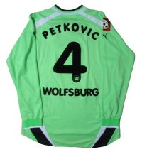 ヴォルフスブルク 2001/02 ホーム ユニフォーム ドゥシャン・ペトコビッチ 選手支給品 XXLサイズ puma
