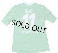 ヴォルフスブルク 2012/13 ホーム ユニフォーム イヴィツァ・オリッチ 選手実使用 直筆サイン入り Lサイズ adidas