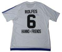ハノ・バーリッチュ引退試合 ユニフォーム ジモン・ロルフェス 選手実使用 XLサイズ adidas