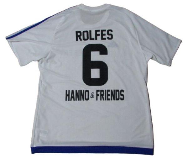 画像1: ハノ・バーリッチュ引退試合 ユニフォーム ジモン・ロルフェス 選手実使用品 XLサイズ adidas
