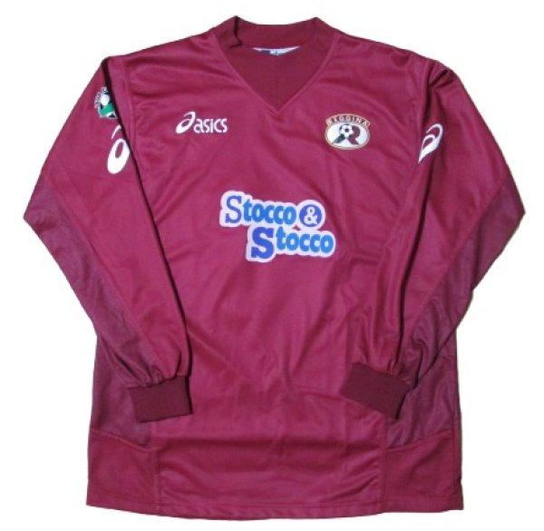 画像2: レッジーナ 2003/04 ホーム ユニフォーム シモーネ・ジャッケッタ 選手支給品 XLサイズ asics