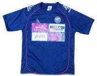 町田ゼルビア 2010? トレーニングシャツ#15(柳崎祥兵) 選手実使用 Lサイズ svolme