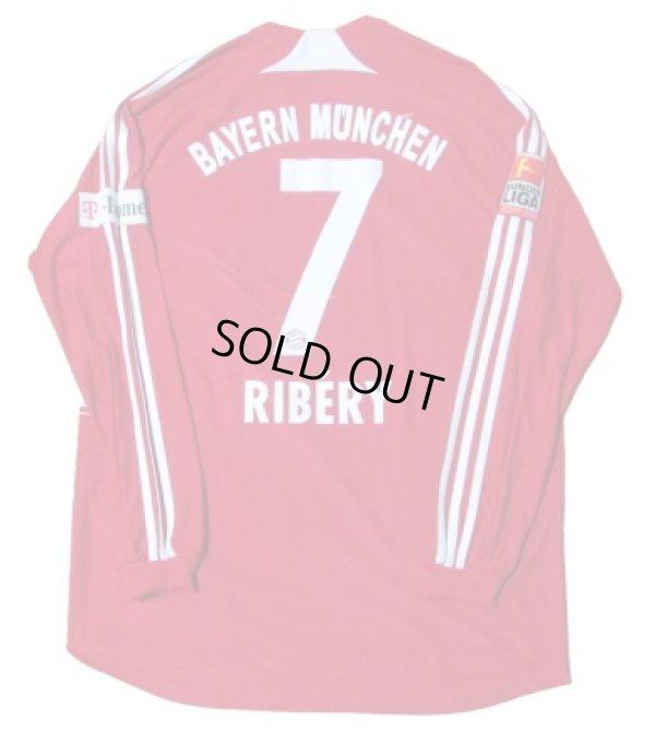 画像1: バイエルン・ミュンヘン 2008/09 ホーム ユニフォーム フランク・リベリー 直筆サイン入り 選手支給品 XLサイズ adidas