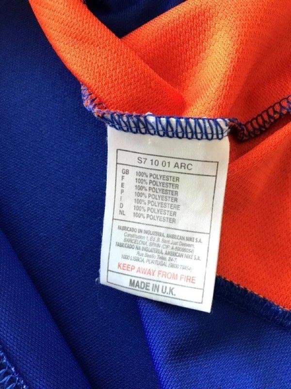画像4: オランダ代表 1997/98 アウェイ ユニフォーム #13  選手用ストック放出品 Mサイズ nike