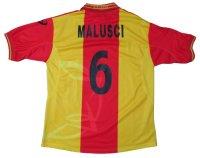 レッチェ 2001/02 ホーム ユニフォーム アルベルト・マルッシ 選手支給品 XXLサイズ asics