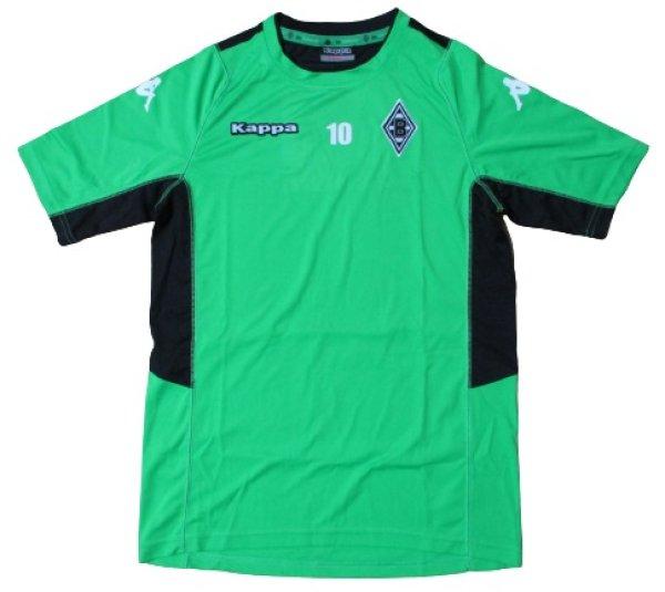 画像1: ボルシアMG 2016/17 CL トレーニングシャツ トルガン・アザール 選手実支給品 Sサイズ kappa