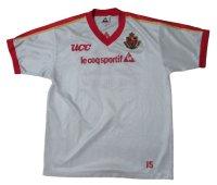 名古屋グランパス トレーングシャツ&ピステパンツセット #15 選手支給品 XOサイズ le coq