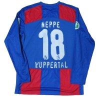 ヴッパーターラーSV 2009/10 ホーム ユニフォーム マルコ・ネップ 選手実使用品 Mサイズ nike
