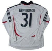 バイエルン・ミュンヘン 2007/08 uefa cup アウェイ ユニフォーム バスティアン・シュヴァインシュタイガー 選手支給品 XLサイズ adidas