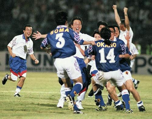 日本代表97(H) 炎モデル ジョホールバルの歓喜